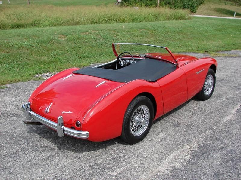 1954 Austin-Healey 100-4 3
