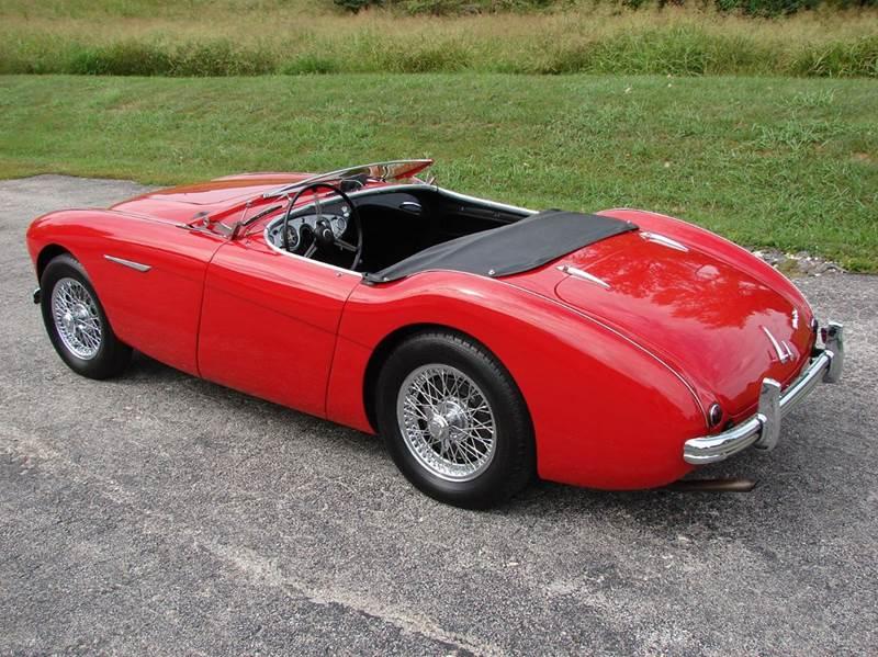 1954 Austin-Healey 100-4 11
