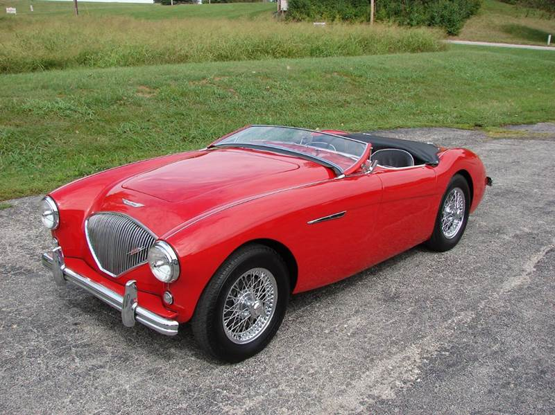 1954 Austin-Healey 100-4 12
