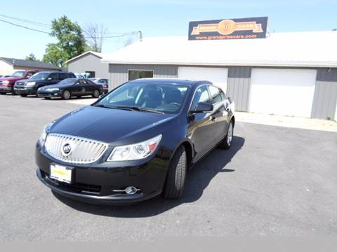 2011 Buick LaCrosse for sale at Grand Prize Cars in Cedar Lake IN