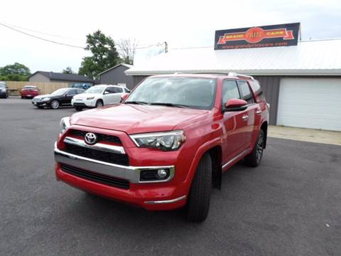 2016 Toyota 4Runner for sale at Grand Prize Cars in Cedar Lake IN