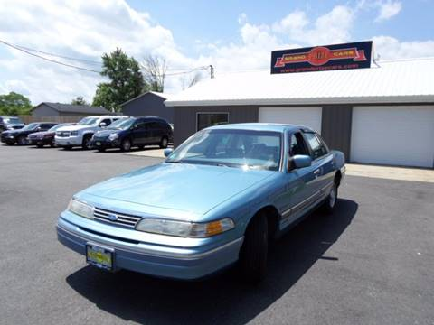 1994 Ford Crown Victoria for sale at Grand Prize Cars in Cedar Lake IN