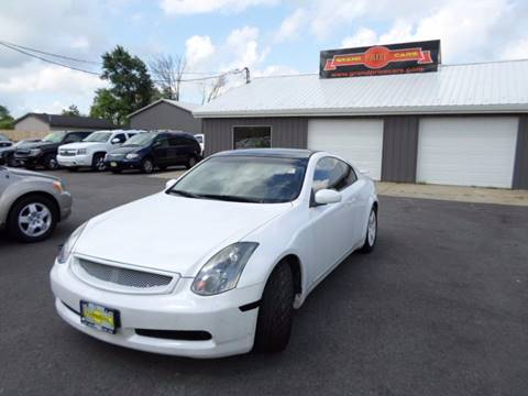 2004 Infiniti G35 for sale at Grand Prize Cars in Cedar Lake IN