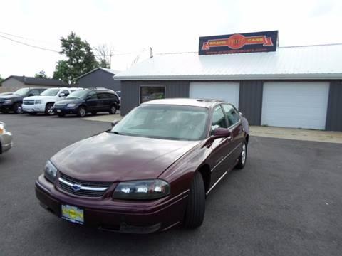 2004 Chevrolet Impala for sale at Grand Prize Cars in Cedar Lake IN