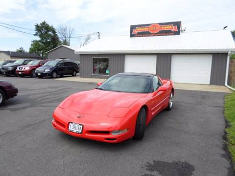 2001 Chevrolet Corvette for sale at Grand Prize Cars in Cedar Lake IN