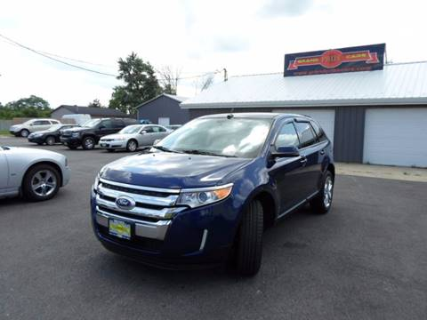 2012 Ford Edge for sale at Grand Prize Cars in Cedar Lake IN