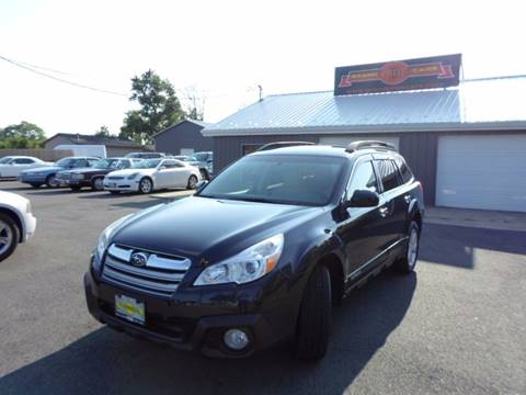2013 Subaru Outback for sale at Grand Prize Cars in Cedar Lake IN