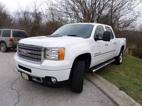 2014 GMC Sierra 2500HD for sale at Grand Prize Cars in Cedar Lake IN