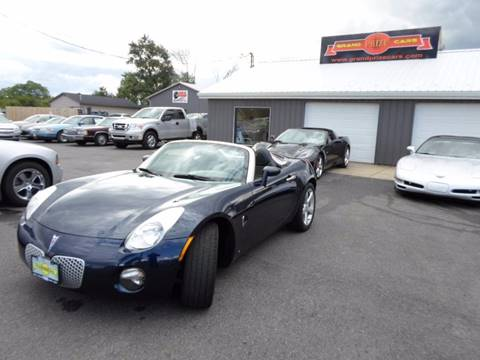 2006 Pontiac Solstice for sale at Grand Prize Cars in Cedar Lake IN