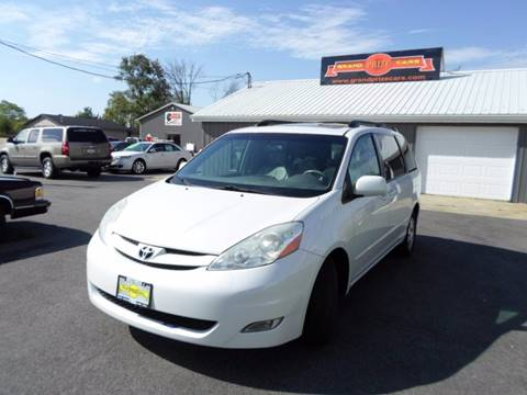 2008 Toyota Sienna for sale at Grand Prize Cars in Cedar Lake IN