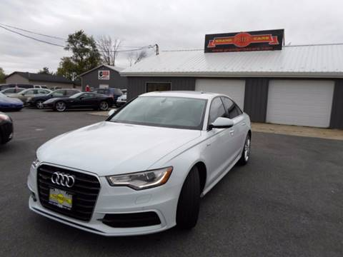 2015 Audi A6 for sale at Grand Prize Cars in Cedar Lake IN