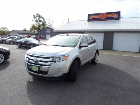 2013 Ford Edge for sale at Grand Prize Cars in Cedar Lake IN