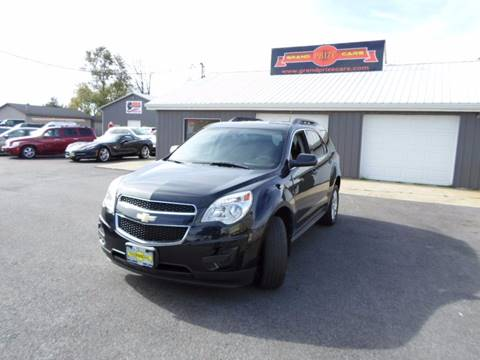 2011 Chevrolet Equinox for sale at Grand Prize Cars in Cedar Lake IN