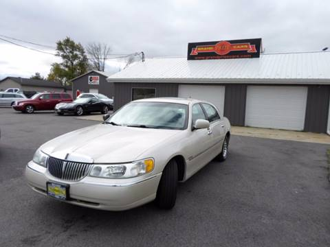 2002 Lincoln Town Car for sale at Grand Prize Cars in Cedar Lake IN