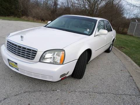 2005 Cadillac DeVille for sale at Grand Prize Cars in Cedar Lake IN