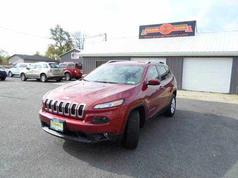 2015 Jeep Cherokee for sale at Grand Prize Cars in Cedar Lake IN