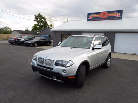 2010 BMW X3 for sale at Grand Prize Cars in Cedar Lake IN