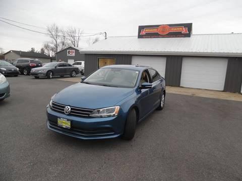 2015 Volkswagen Jetta for sale at Grand Prize Cars in Cedar Lake IN