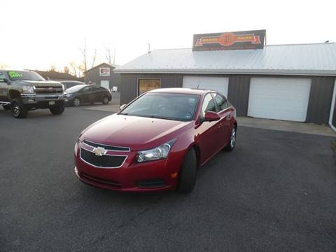2014 Chevrolet Cruze for sale at Grand Prize Cars in Cedar Lake IN