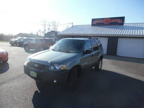 2007 Ford Escape for sale at Grand Prize Cars in Cedar Lake IN