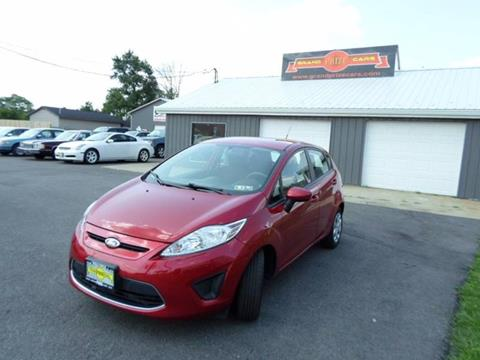 2011 Ford Fiesta for sale at Grand Prize Cars in Cedar Lake IN