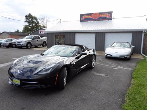 2016 Chevrolet Corvette for sale at Grand Prize Cars in Cedar Lake IN