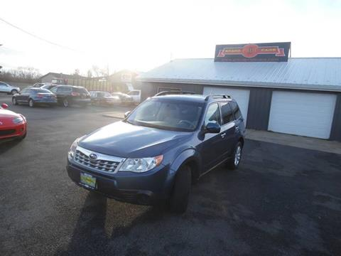 2013 Subaru Forester for sale at Grand Prize Cars in Cedar Lake IN