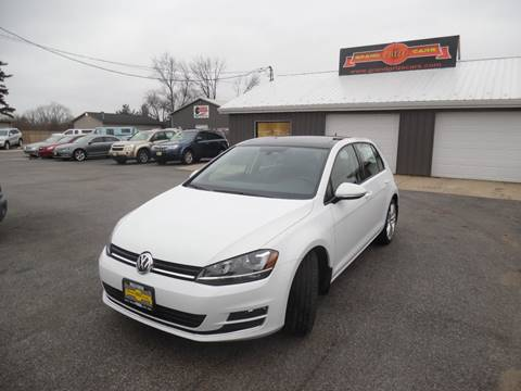 2015 Volkswagen Golf for sale at Grand Prize Cars in Cedar Lake IN