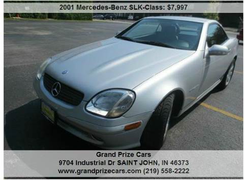 2001 Mercedes-Benz SLK-Class for sale at Grand Prize Cars in Cedar Lake IN