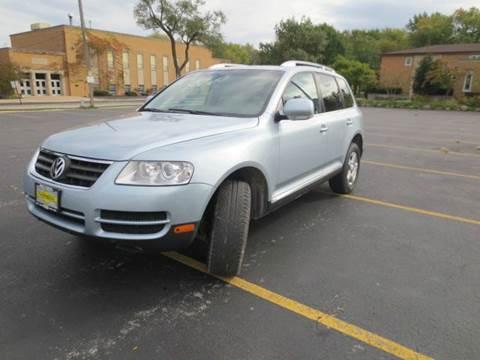 2007 Volkswagen Touareg for sale at Grand Prize Cars in Cedar Lake IN
