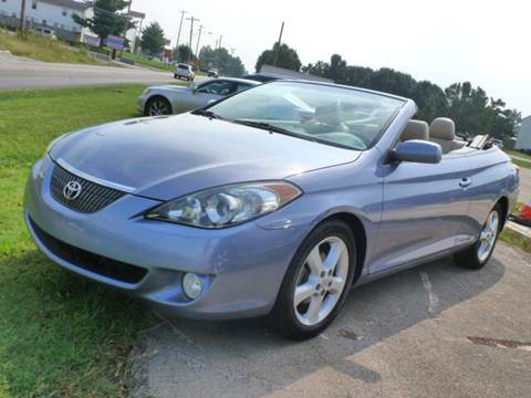 2006 Toyota Camry Solara for sale at Grand Prize Cars in Cedar Lake IN