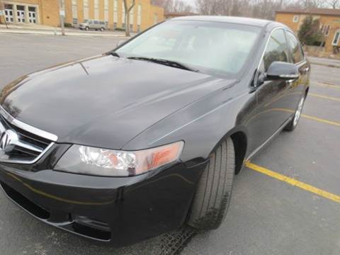 2005 Acura TSX for sale at Grand Prize Cars in Cedar Lake IN