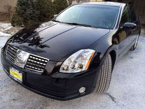 2004 Nissan Maxima for sale at Grand Prize Cars in Cedar Lake IN