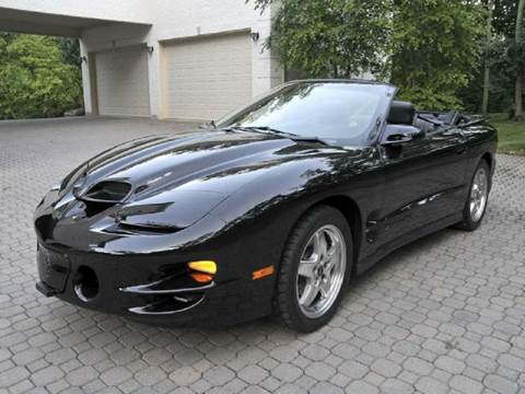 2002 Pontiac Firebird for sale at Grand Prize Cars in Cedar Lake IN