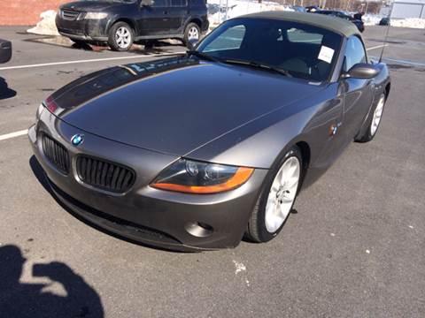 2003 BMW Z4 for sale at Grand Prize Cars in Cedar Lake IN
