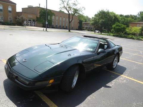 1991 Chevrolet Corvette for sale at Grand Prize Cars in Cedar Lake IN