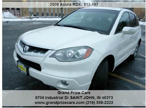 2008 Acura RDX for sale at Grand Prize Cars in Cedar Lake IN