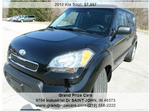 2010 Kia Soul for sale at Grand Prize Cars in Cedar Lake IN