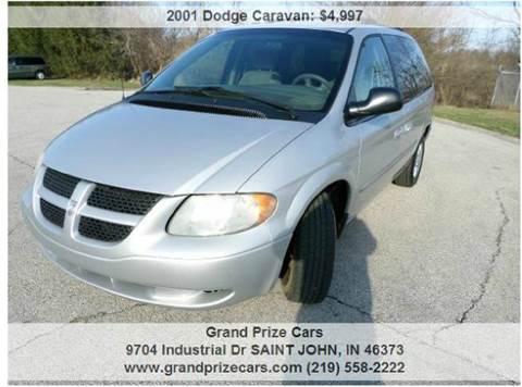 2001 Dodge Caravan for sale at Grand Prize Cars in Cedar Lake IN