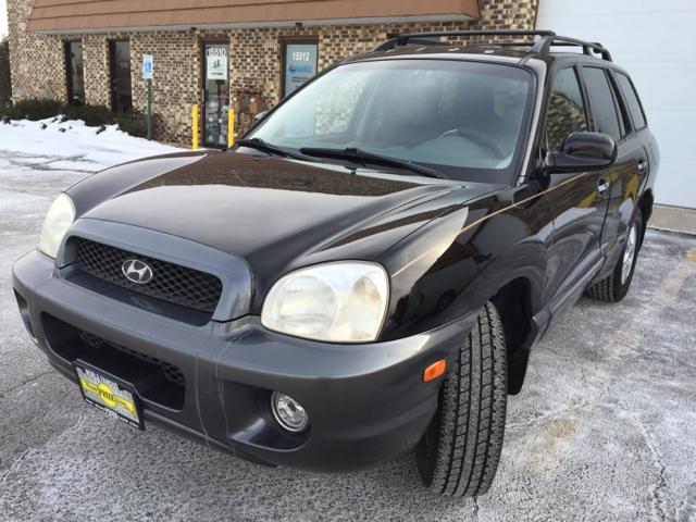 2002 Hyundai Santa Fe For Sale At Grand Prize Cars In Cedar Lake IN