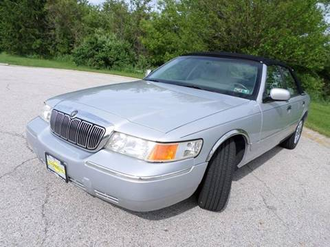 2001 Mercury Grand Marquis for sale at Grand Prize Cars in Cedar Lake IN