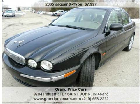 2005 Jaguar X-Type for sale at Grand Prize Cars in Cedar Lake IN