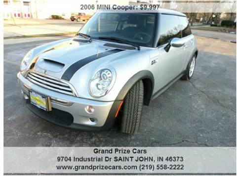 2006 MINI Cooper for sale at Grand Prize Cars in Cedar Lake IN