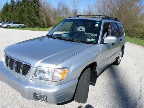 2002 Subaru Forester for sale at Grand Prize Cars in Cedar Lake IN