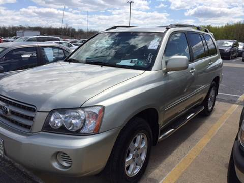 2001 Toyota Highlander for sale at Grand Prize Cars in Cedar Lake IN