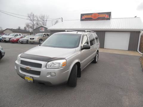 2007 Chevrolet Uplander for sale at Grand Prize Cars in Cedar Lake IN