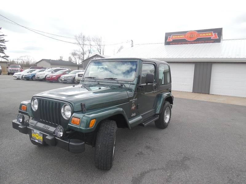 2001 Jeep Wrangler For Sale At Grand Prize Cars In Cedar Lake IN