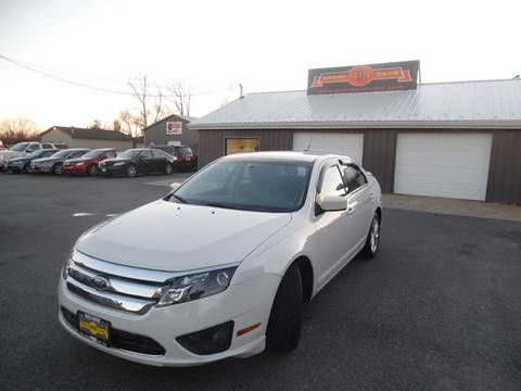 2012 Ford Fusion for sale at Grand Prize Cars in Cedar Lake IN