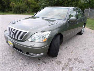 2005 Lexus LS 430 for sale at Grand Prize Cars in Cedar Lake IN