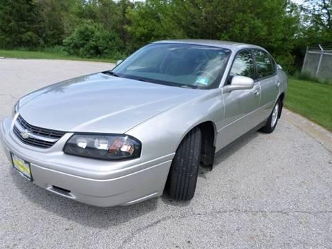 2005 Chevrolet Impala for sale at Grand Prize Cars in Cedar Lake IN
